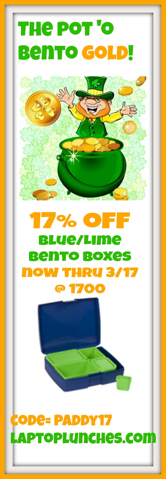 17% Off Now thru St. Paddy's Day!