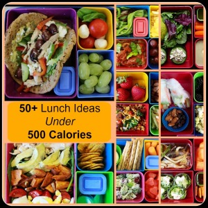 500 Calorie Lunches on Pinterest