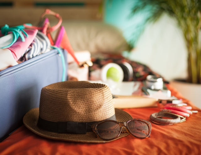Hat-travel-bags-packed